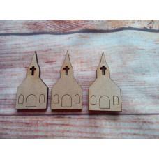 Church D3 Laser Cut PK 10
